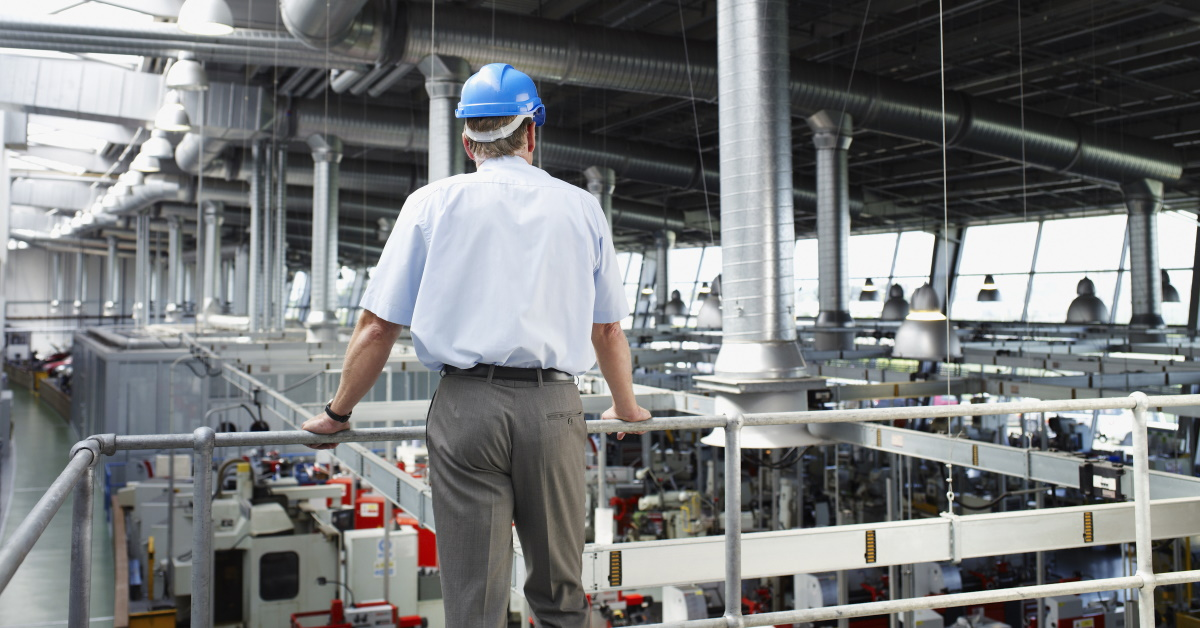 Manufacturing Plant Manager Thinking About Systems