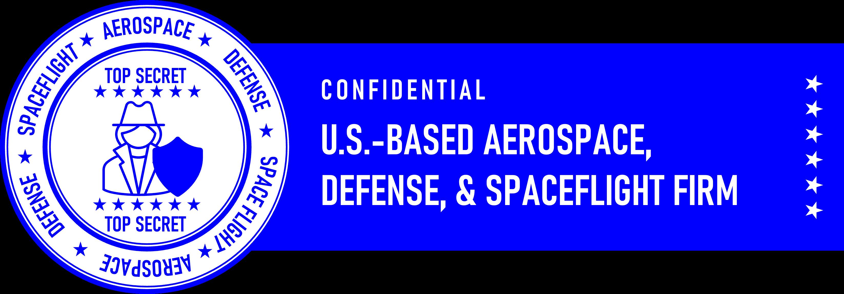 Confidential: Aeorspace Manufacturer
